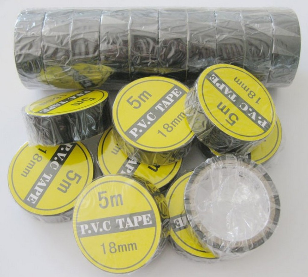 Supply Black 5m18cm Electrical High Viscosity Pvc Insulation Wire Tape With Certificate Of Insulating