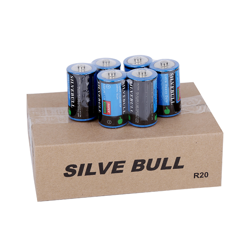 Supply Special silvebull1 battery zinc manganese battery R20P-