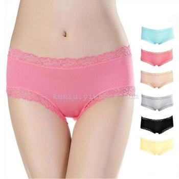 Ladies seamless women's seamless underwear lace low waist sexy cut briefs wholesale explosion models factory direct