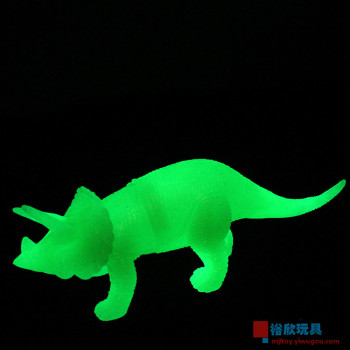 703 noctilucent fluorescent plastic toys simulation static model animal ornaments