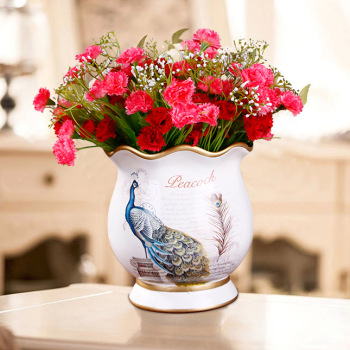 创意婚庆礼品 欧式陶瓷花瓶 xc1225