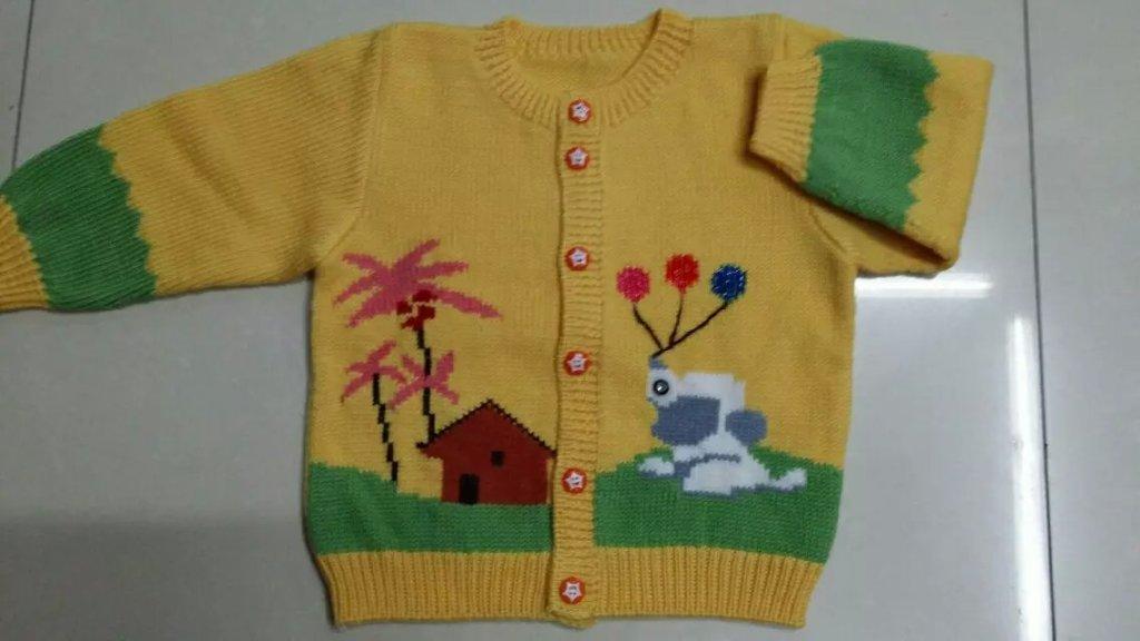羊绒线 童装 毛线 羊绒衫 小孩手工编织毛衣