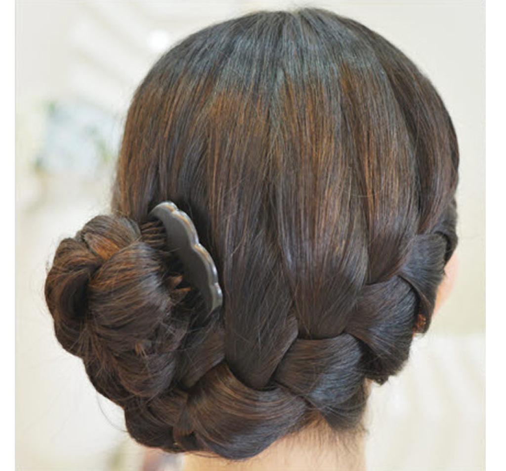 叉梳 美发造型工具 盘发器叉梳 公主头固定 u型夹图片