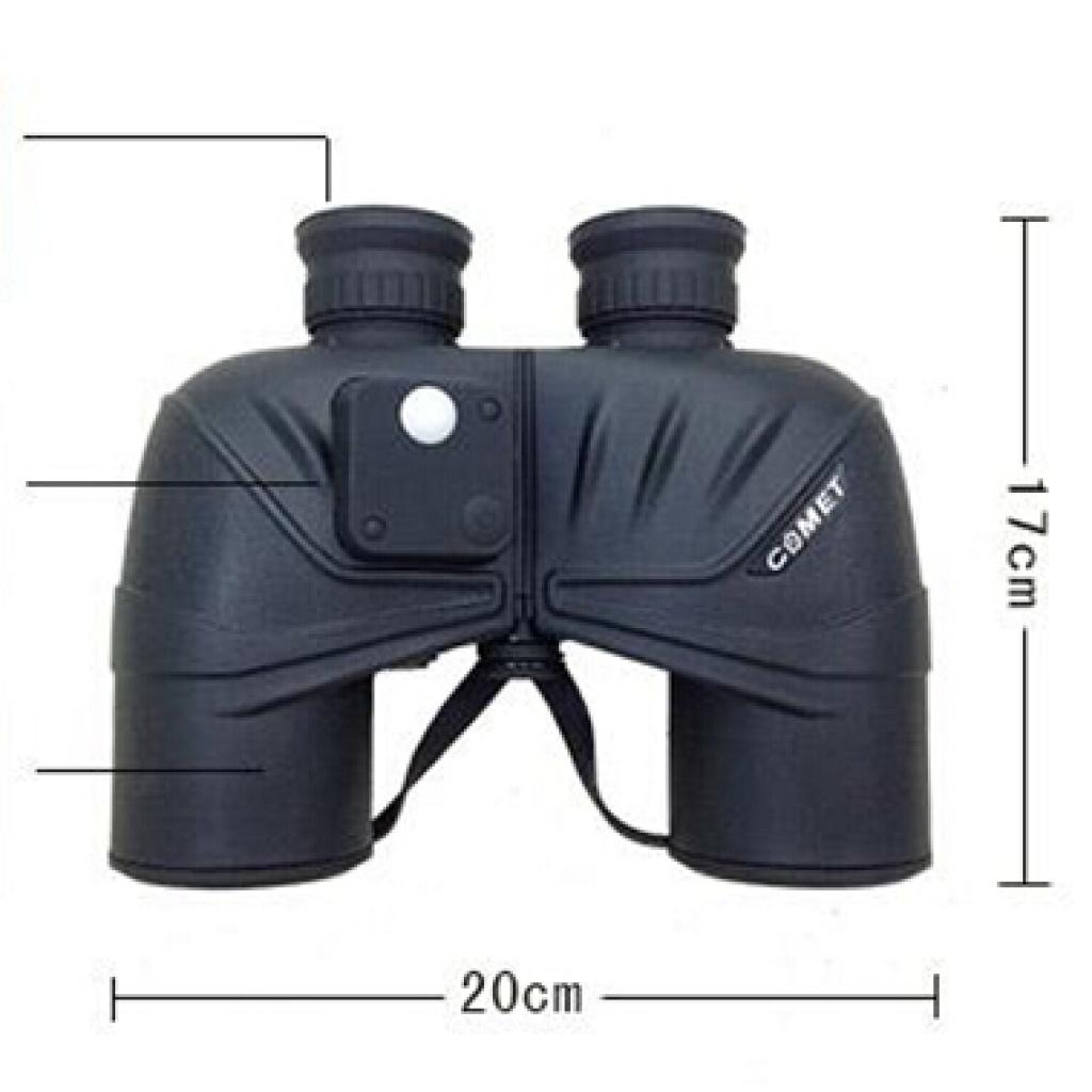 望远镜科美特军标充氮防水防雾带罗盘高清军用望远镜
