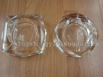 Crystal ashtray practical office supplies