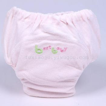 Baby urine proof trousers cotton waterproof cloth urine trousers can wash children's briefs