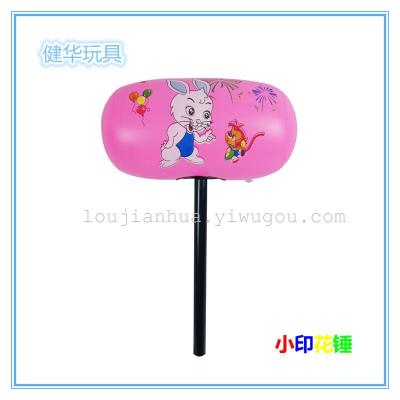 Inflatable toys, Yiwu factory outlet small print hammers pneumatic hammers hard Rod bears happy sheep angry birds