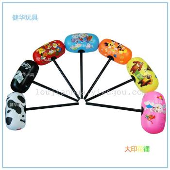 Large printing hammer inflatable toy manufacturers direct hard rod hammer angry birds bear infested