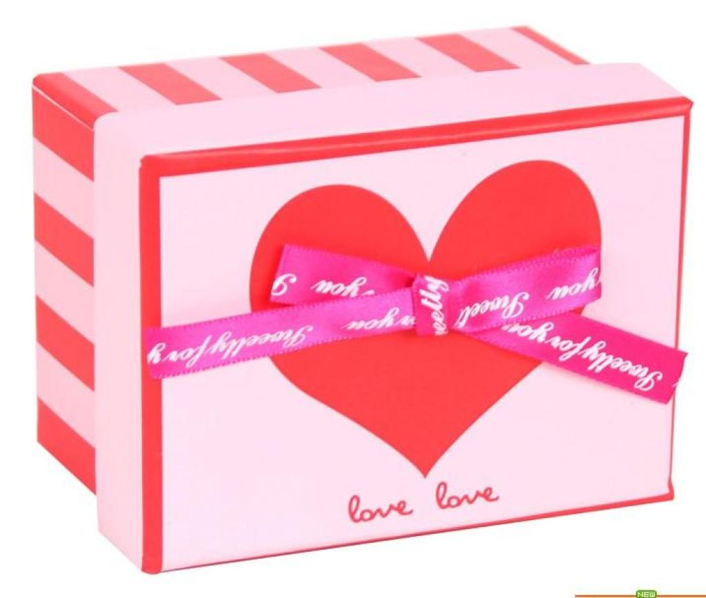 韩版礼品盒 大爱心蝴蝶结盒子 礼物包装盒 纸盒糖果盒