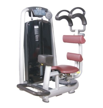 Show TZ-6003 professional machine sitting swing training device for Fitness Center indoor fitness equipment