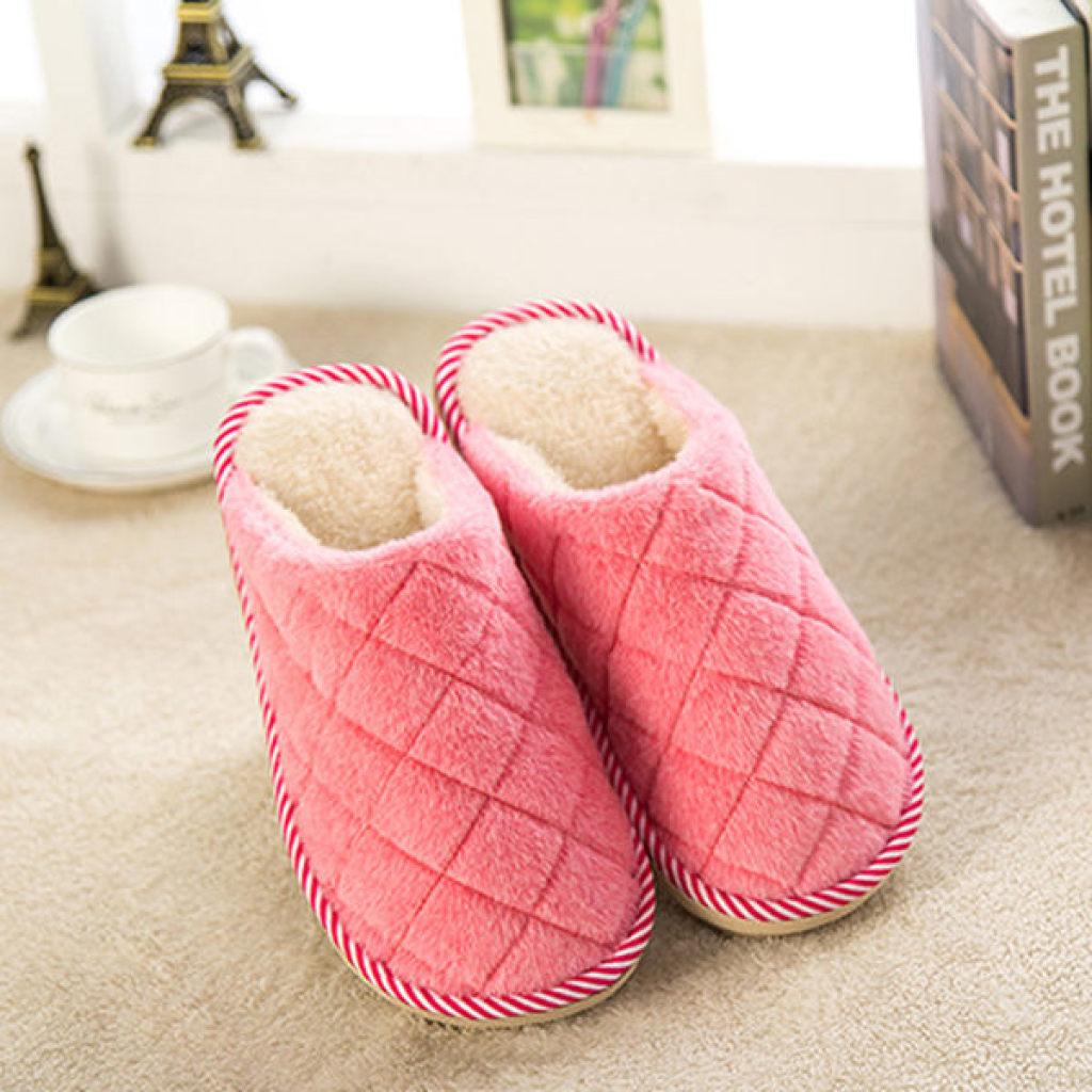 棉拖鞋女冬季保暖拖鞋可爱情侣男加厚底棉拖鞋冬天鞋