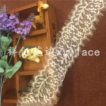 Eyelash lace fabric lace garment accessories factory spot