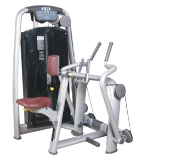 Show TZ-6004 professional machine sitting shoulder after the fair practice gym for indoor fitness equipment