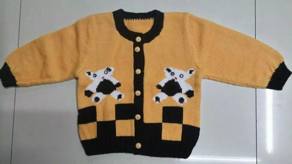 毛线 童装 羊绒衫 羊绒线 小孩手工编织毛衣