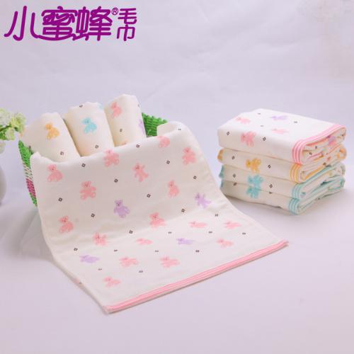 Cotton towel towel towel absorbent gauze printed gift wholesale 8099