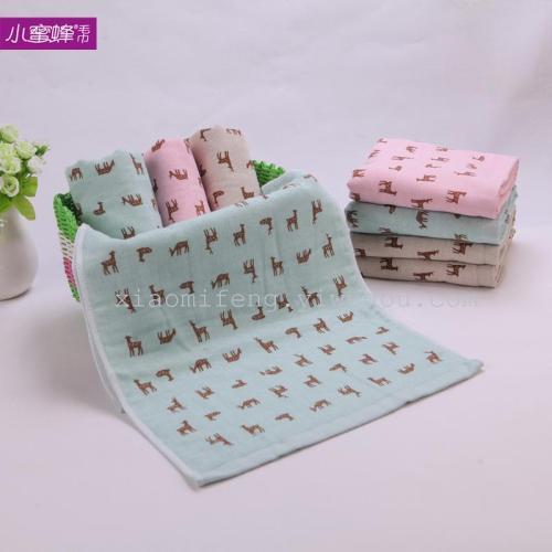 Cotton towel gauze washrag absorbent towel towel wholesale