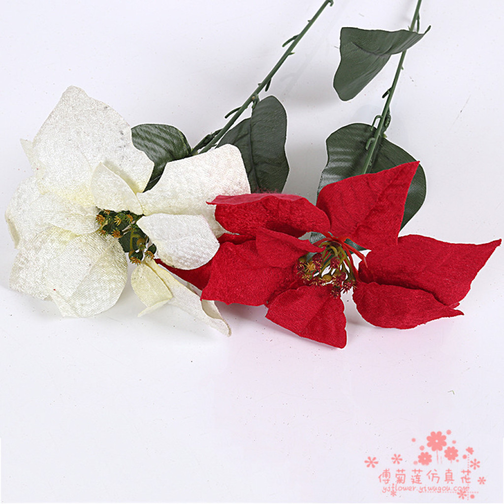 Supply The Christmas Flower Single Christmas Poinsettia Flower