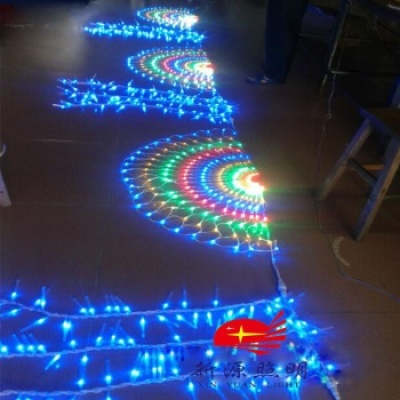 Net LED colorful LED lights lamp lamp