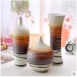 Modern Chinese Ceramics Three - piece Vase Decoration