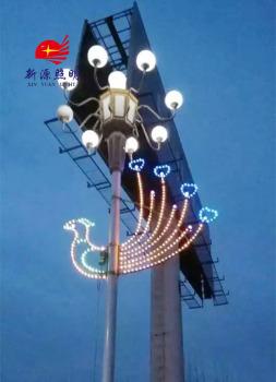 Processing custom festival decoration lamp LED street lamp plane pattern