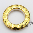 Gold silver ring / nano Rome Rome ring ring mute curtain