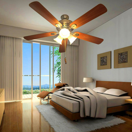 Fan lamp The quiet fan lamp for living room bedroom and