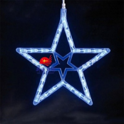Manufacturers supply the new LED Star Pendant shape tree lights