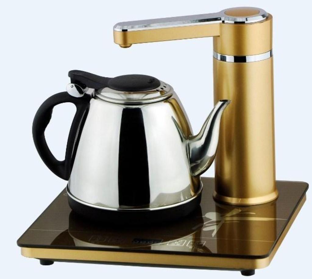 自动抽水电热水壶,自动抽水茶具电水壶01
