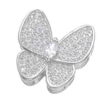 - прекрасные украшения микро - инкрустация циркон бабочка связи органа ювелирных магазинов одежды медные украшения