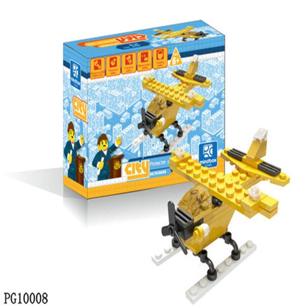 飞机乐高式拼装积木拼插玩具