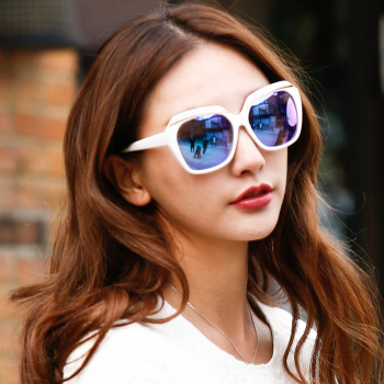 The new bird new sunglass Korean fashion V brand big sunglasses wholesale Sunglasses 2119
