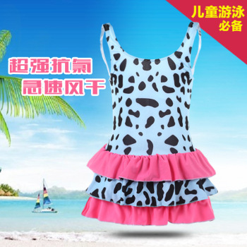 Girls Swimming Trunks Swimsuit Princess 7-11
