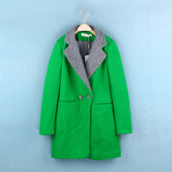 2015 in the winter of the new women's wool coat in a long cashmere coat