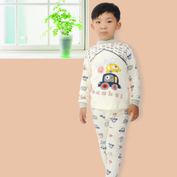 Children underwear boy long johns high-grade combed cotton fabric pilling does not fade