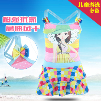 Children's Princess swimsuit girls swimming pool children must have a summer explosion
