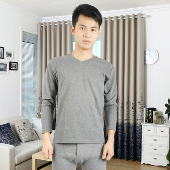 High-grade sanding thermal underwear sets men long johns underwear men's winter essential