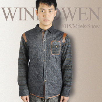 Huang Lun fashion underwear men's shirt and the day of the explosion of men's cashmere thickening