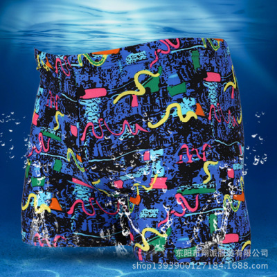 Men's boxer Trunks Swimsuit swimming trunks men digital printing