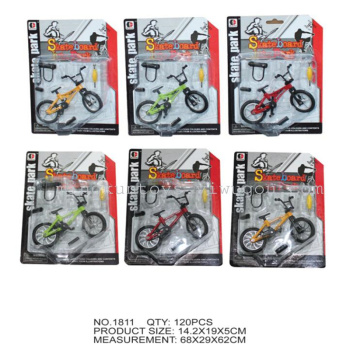 Alloy toy bicycle model simulation children's toys