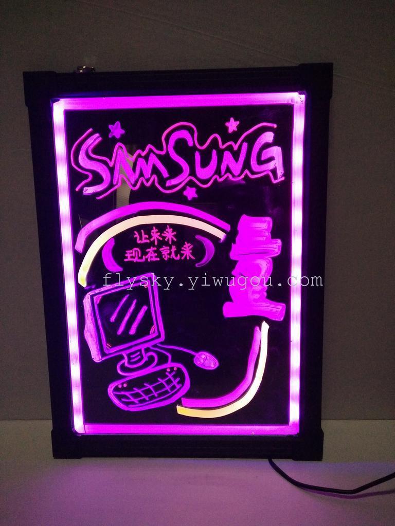 咖啡店荧光板设计图案大全展示