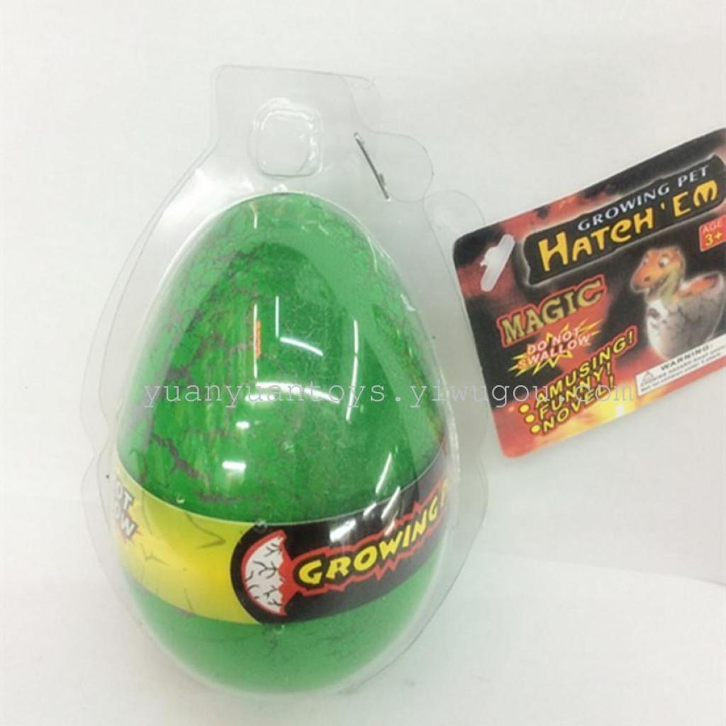 大号裂纹恐龙蛋膨胀恐龙蛋泡水玩具 吸水变大恐龙蛋海绵宝宝