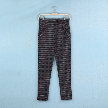 In the winter with old velvet LEGGINGS SIZE lady thickened warm pants