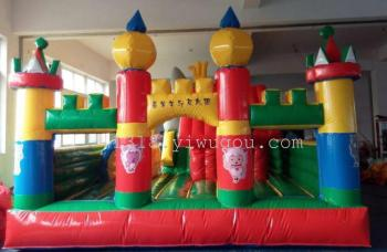 Manufacturers selling inflatable castle naughty Fort slide jump bed trampoline jump pad inflatable inflatable toys
