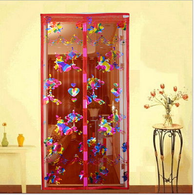 Factory direct summer explosion of new upgraded high-grade magnetic soft screen door mosquito curtain winnings