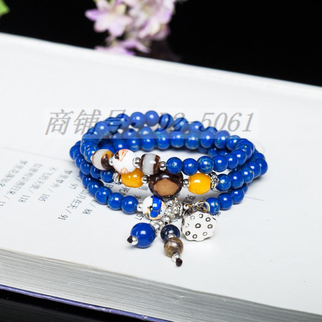 il nome della famiglia vento multi - crystal braccialetto perle melagrana shihuang donne moda braccialetti. gioielli, signora dolce