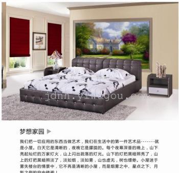 装饰画  手绘油画  大幅面墙画