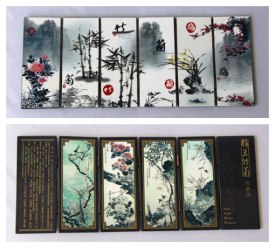 Large supply of tourism crafts antique lacquer small screen Home Furnishing ornaments China gifts wind