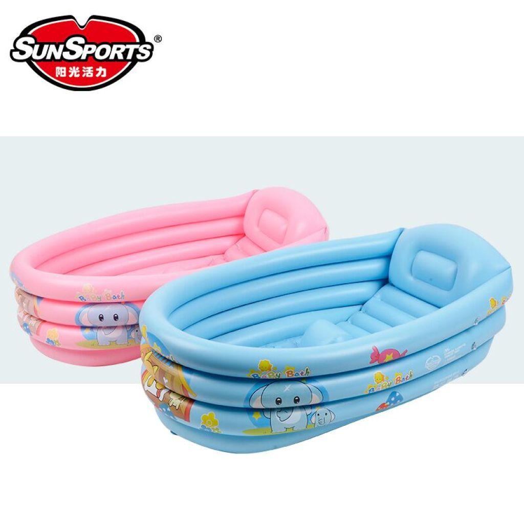 Supply Infant Baby Bath Tub Inflatable Bath newborn children large ...