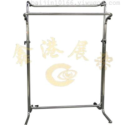 Ring bars display rack on women's and children's clothes electroplating electroplating under the paint