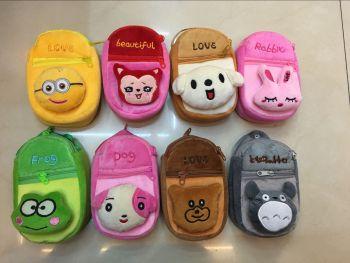 Explosions plush bag phone bag plush cartoon cute little bag in South-East Asia sales